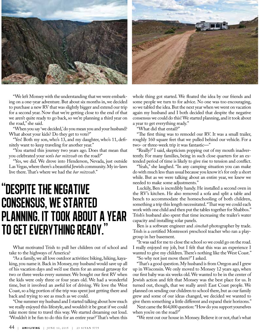 Ami Magazine - The Road Less Traveled Issue 221-3